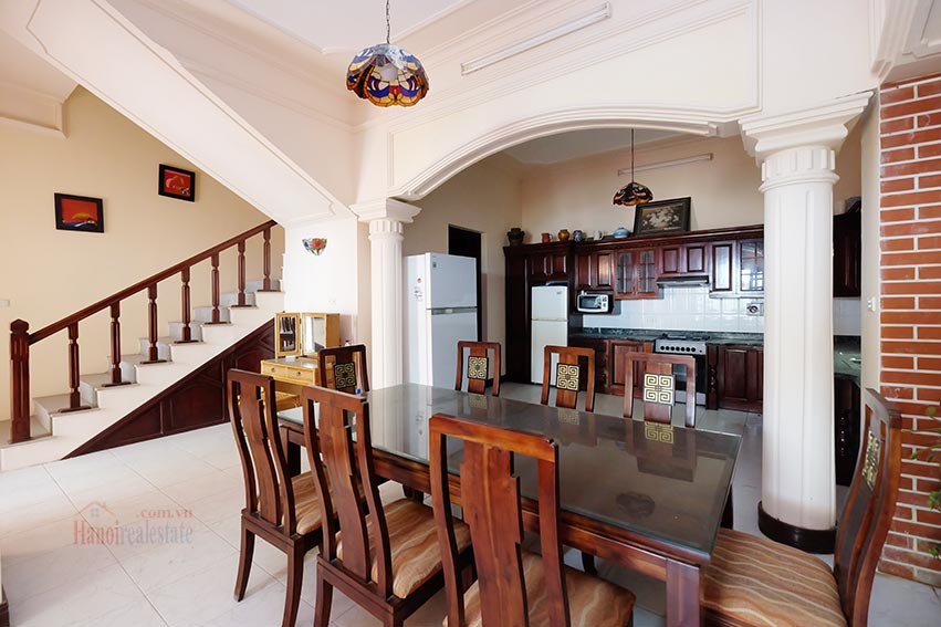 Charming house for rent on To Ngoc Van, big terrace and fully furnished 4