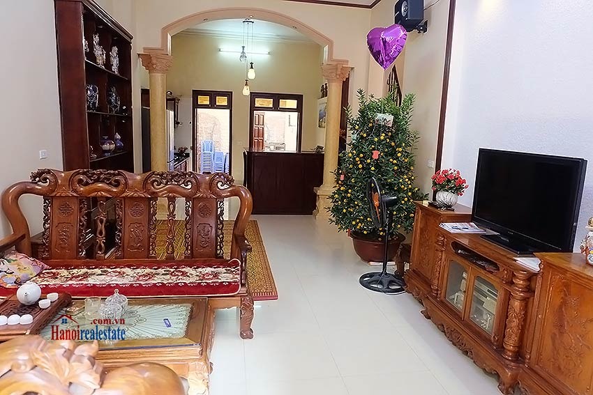 Charming house with a skylight for rent in Au Co, Tay Ho, fully equipped 5