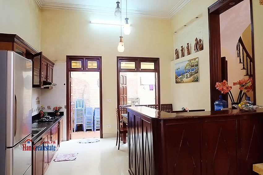 Charming house with a skylight for rent in Au Co, Tay Ho, fully equipped 8