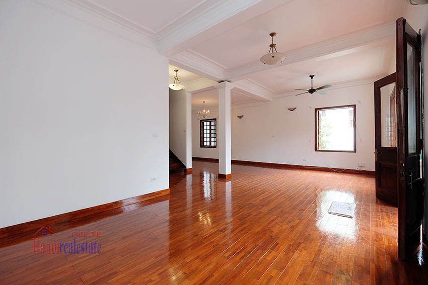 Charming house with large front courtyard on To Ngoc Van 12