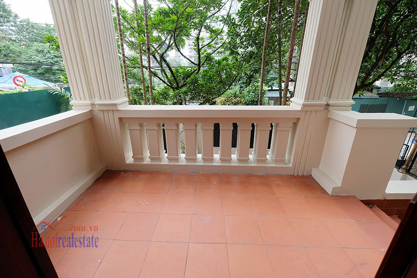 Charming house with large front courtyard on To Ngoc Van 13