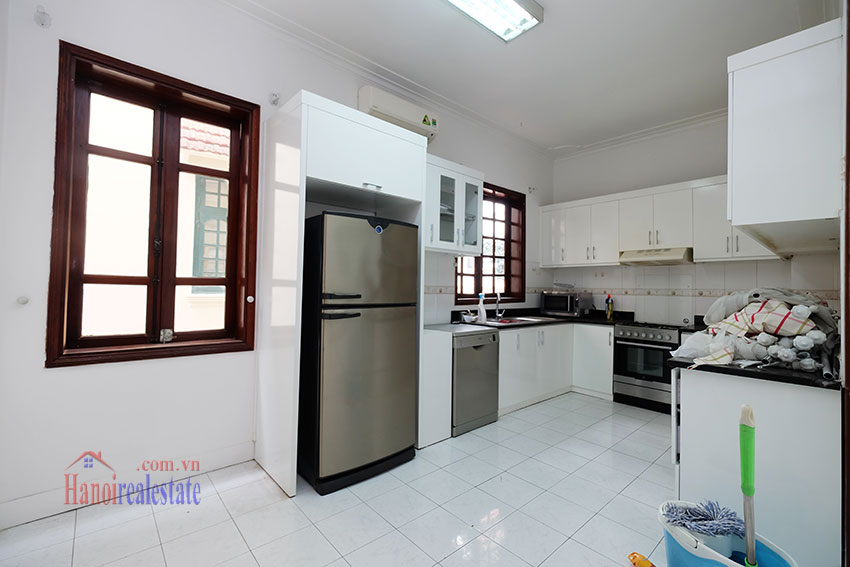 Charming house with large front courtyard on To Ngoc Van 14