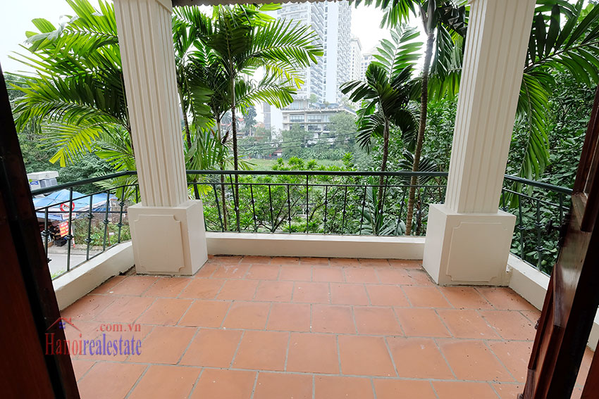 Charming house with large front courtyard on To Ngoc Van 19