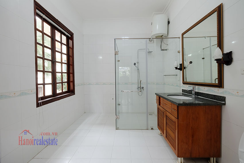 Charming house with large front courtyard on To Ngoc Van 20