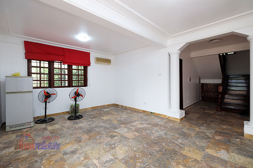 Charming house with large front courtyard on To Ngoc Van 6