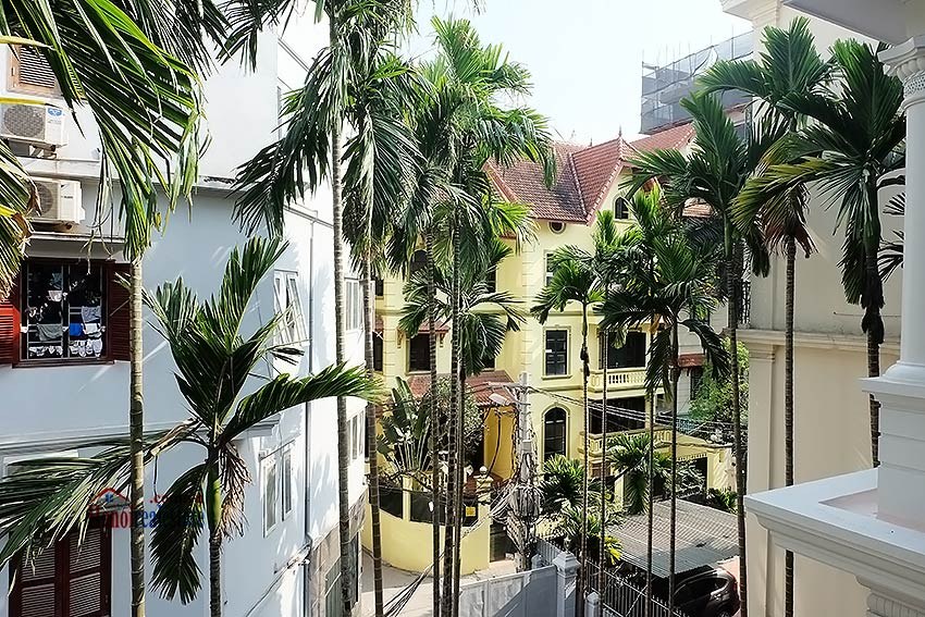 Charming spacious house to let in To Ngoc Van with big courtyard 19