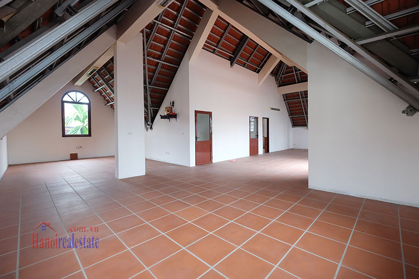 Charming Villa with large garden & outdoor pool on To Ngoc Ngoc Van to rent 26