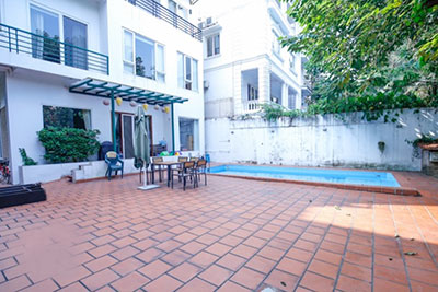 Charming Villa with outdoor swimming pool and garden in Tay Ho