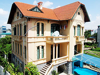Charming Villa with Pool and Yard for rent in Hai Ba Trung Hanoi
