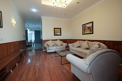 Ciputra: Modern 05BRs house for rent in D block, view to UNIS