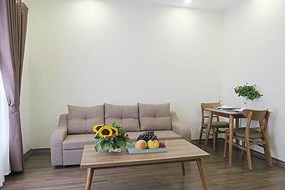 Service apartment for rent at Buoi street, 55m2, one bedroom, furnished