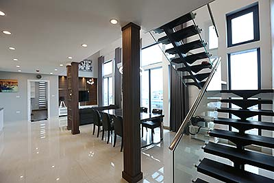 Rental Brand-new duplex apartment in Nghi Tam street, Tay Ho District Hanoi.
