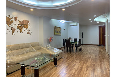 Ciputra apartment in low floor with 03 bedrooms, E5 Building, near SIS, Hanoi Academy
