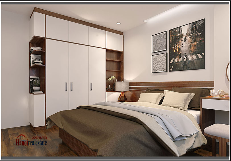 Ciputra: Brilliant 03BRs apartment on high floor at L3, balcony 14