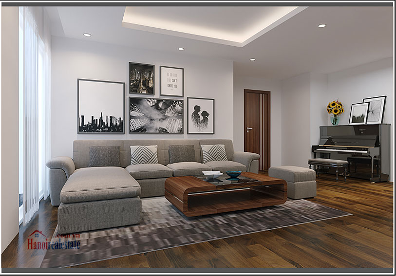 Ciputra: Brilliant 03BRs apartment on high floor at L3, balcony 2