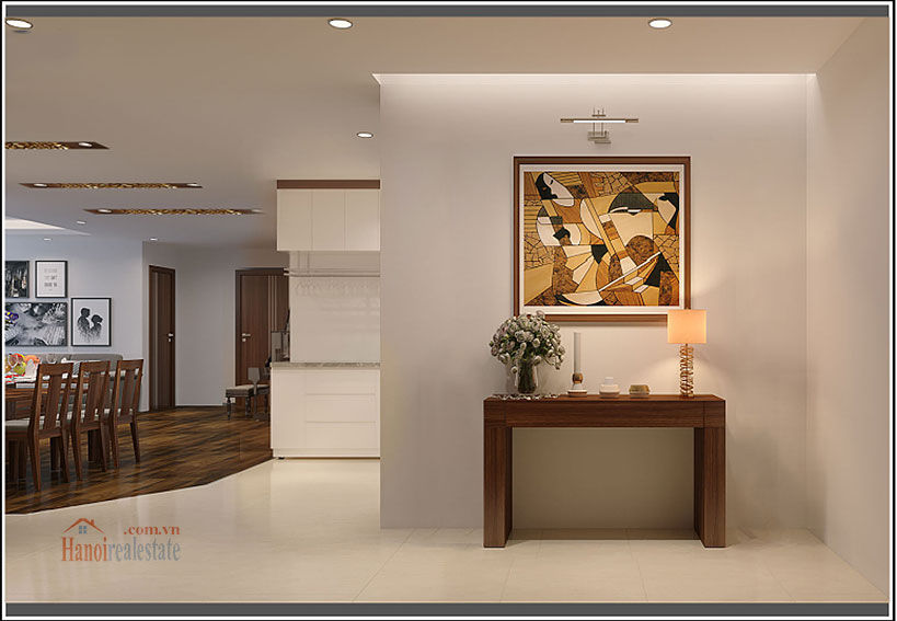 Ciputra: Brilliant 03BRs apartment on high floor at L3, balcony 9
