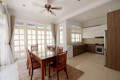 Ciputra: Corner 05BRs house with modern kitchen, near UNIS
