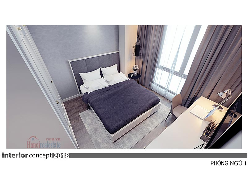 Ciputra: Excellent 03BRs apartment at L4, balcony in the living room 18
