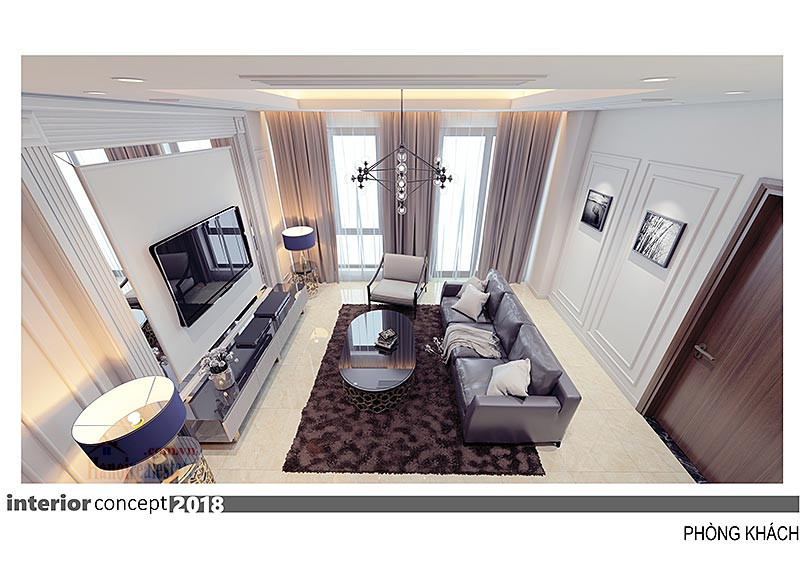 Ciputra: Excellent 03BRs apartment at L4, balcony in the living room 2