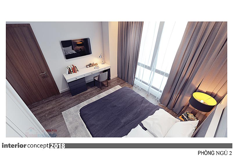 Ciputra: Excellent 03BRs apartment at L4, balcony in the living room 21