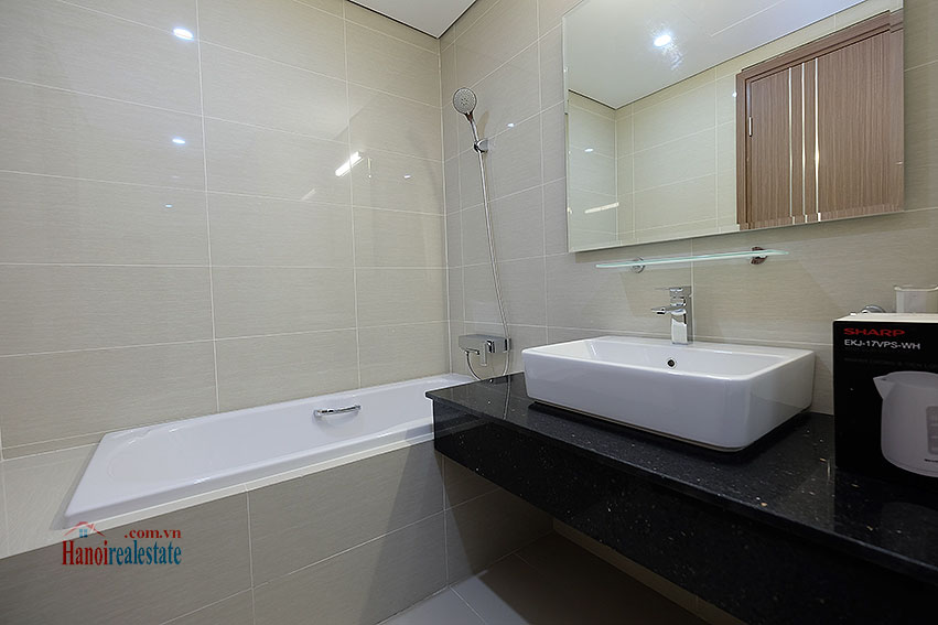 Ciputra: Fully furnished 03BRs apartment at L3 building, Ciputra and golf course view 14