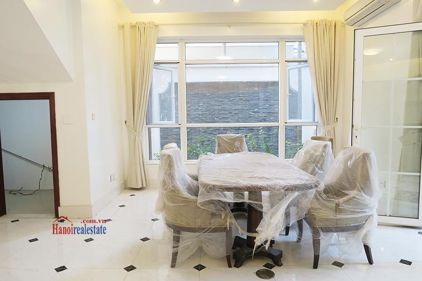 Ciputra: Fully furnished 04BRs house for rent in T3 8