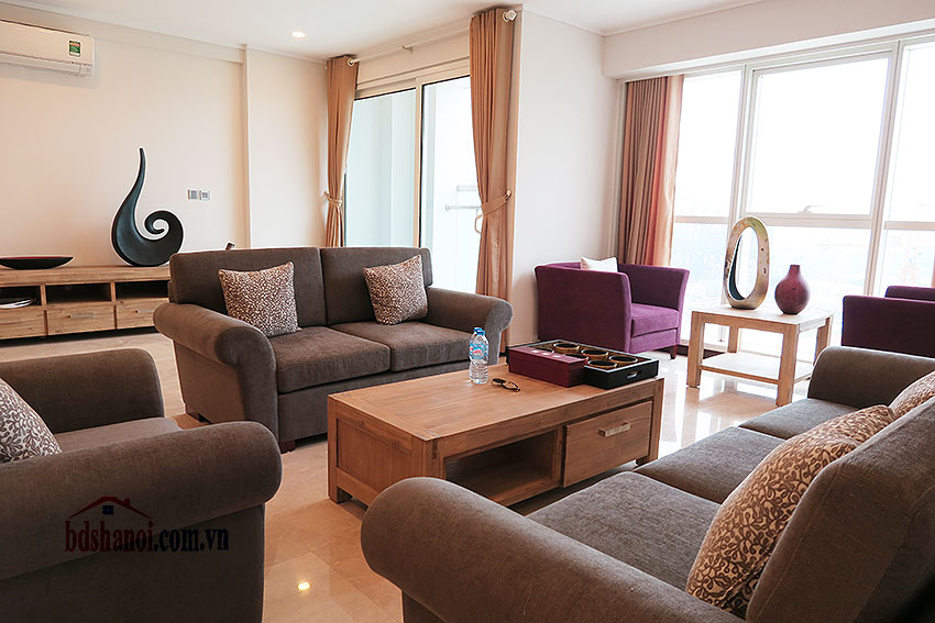 Ciputra: Fully furnished, new 04BRs apartment in L2 5