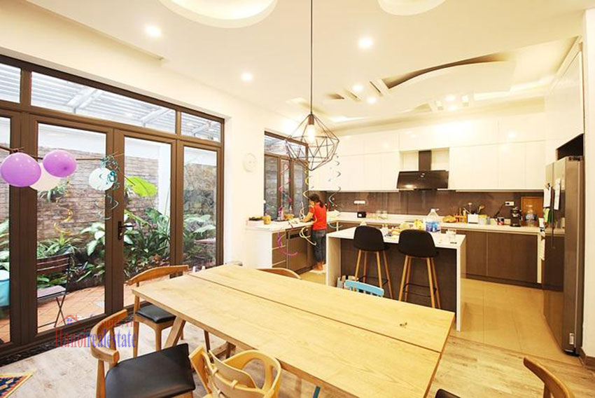 Ciputra: Fully renovated 05BRs house in D block Ciputra, short walk to UNIS 7