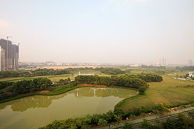 Ciputra: Golf course view 03Brs apartment at P2, 145m2