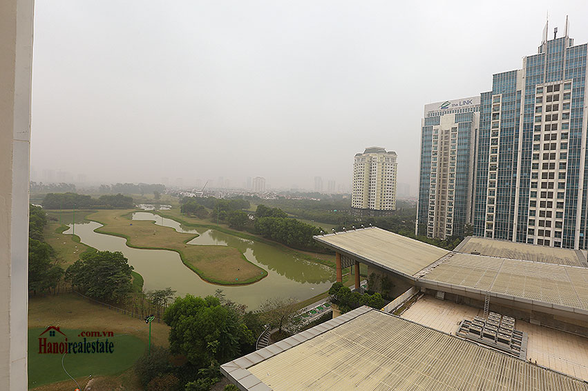 Ciputra: Golf course view 03BRs apartment in L3 building, stunning 11