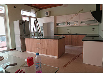 Modern house for rent at T block Ciputra Hanoi, nice kitchen and yard