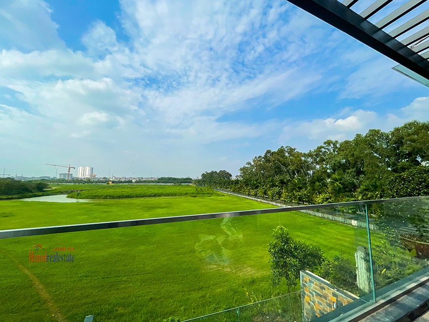 Ciputra: High standard Golf course view swimming pool 6-bedrooms villa in Q block 12