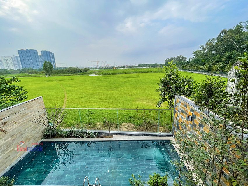 Ciputra: High standard Golf course view swimming pool 6-bedrooms villa in Q block 16