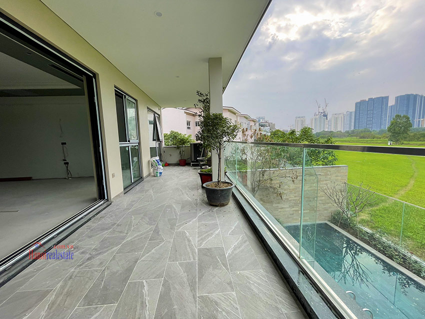 Ciputra: High standard Golf course view swimming pool 6-bedrooms villa in Q block 8