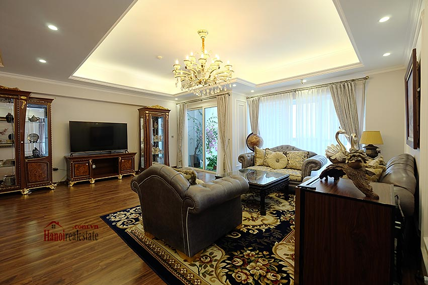 Ciputra: Magnificent 04Brs apartment, luxurious and modern in L block 5