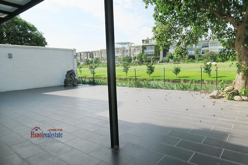 Ciputra: Newly renovated spacious 05BRs villa in T block Ciputra, river access 25