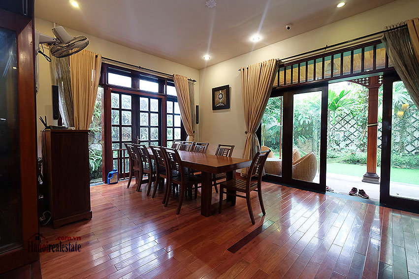 Ciputra: The glamorous 06BRs villa for rent in C block Ciputra, lovely garden 13