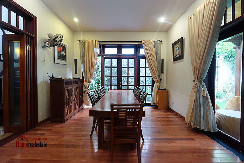 Ciputra: The glamorous 06BRs villa for rent in C block Ciputra, lovely garden 14