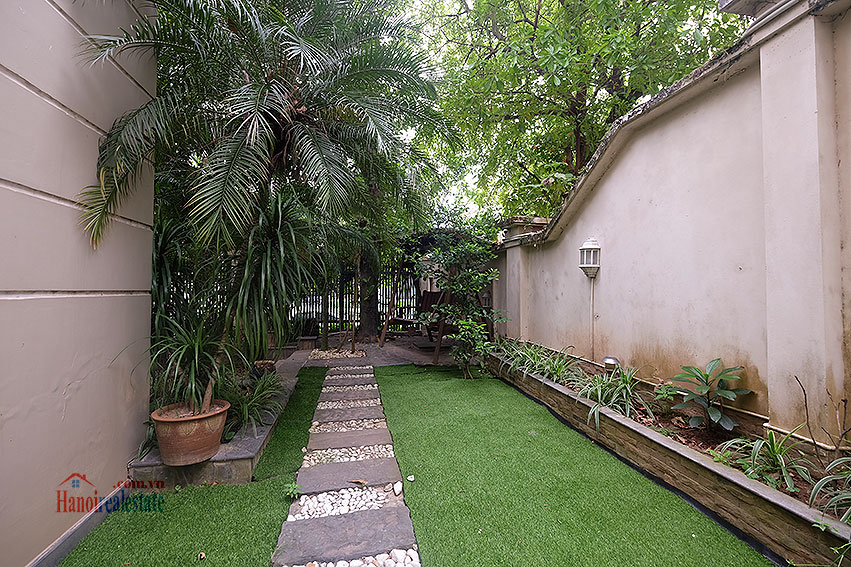 Ciputra: The glamorous 06BRs villa for rent in C block Ciputra, lovely garden 5