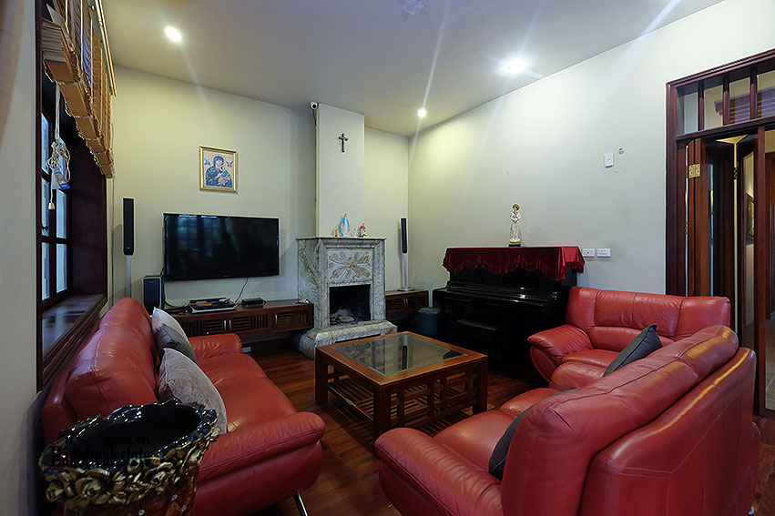 Ciputra: The glamorous 06BRs villa for rent in C block Ciputra, lovely garden 9