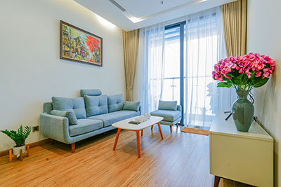 City view 01BR apartment at Vinhomes Metropolis, fully furnished