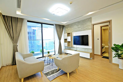 City view new brand 2BRs apartment in Metropolis on middle floor