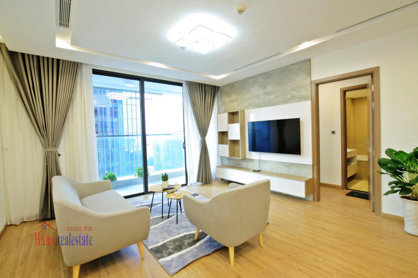 City view new brand 2BRs apartment in Metropolis on middle floor 1