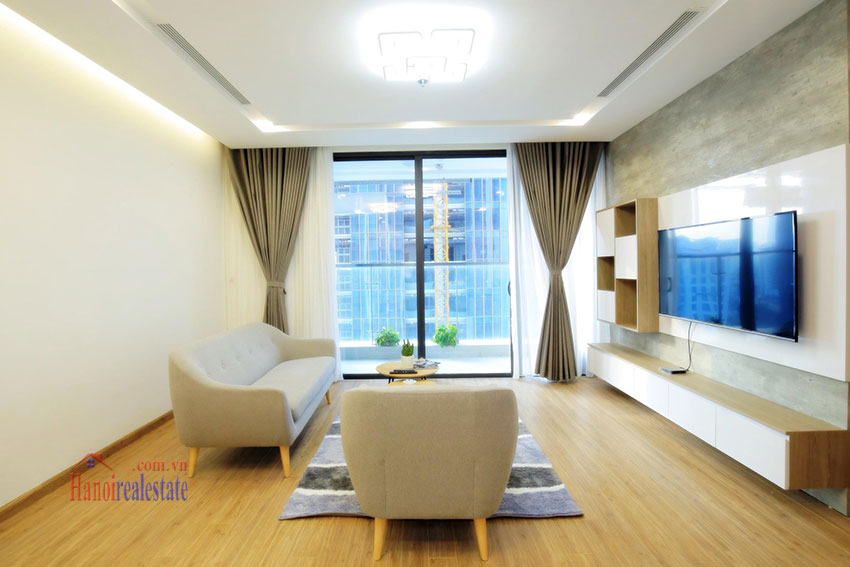 City view new brand 2BRs apartment in Metropolis on middle floor 8
