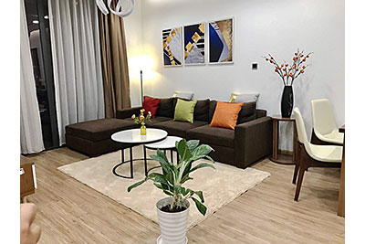 Colorfully decorated apartment with 2 beds in Vinhomes Metropolis