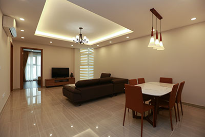 Modern, New Cozy 03BRs apartment rental at L4 Ciputra, on high floor