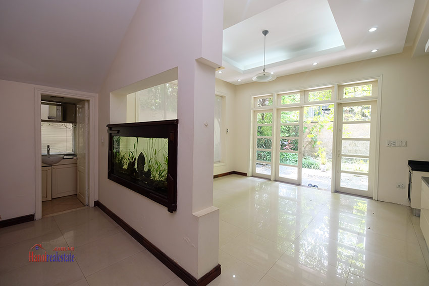 Cozy 06 BRs house with 350m land area, unfurnished in C1 Ciputra 12