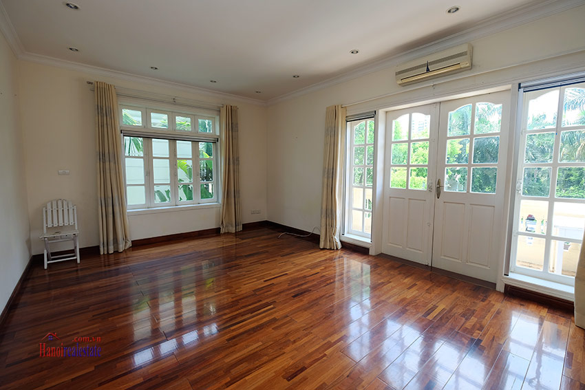 Cozy 06 BRs house with 350m land area, unfurnished in C1 Ciputra 33