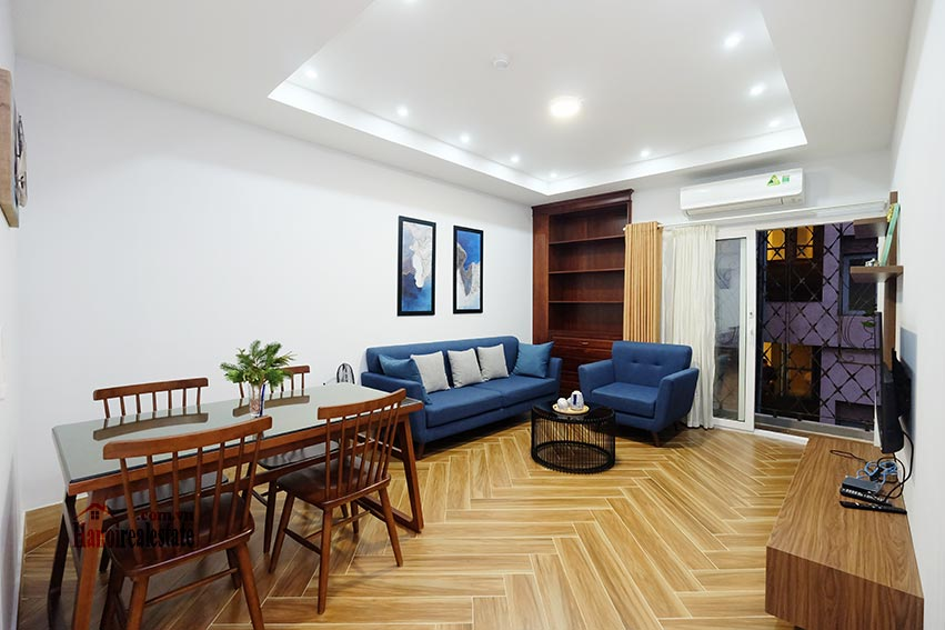 Cozy 1-bedroom apartment for rent in the heart of Hanoi city center 1
