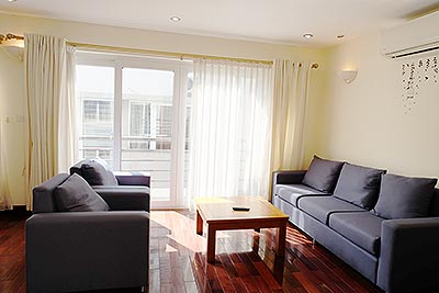 Cozy apartment with 01BR for rent in Ba Dinh Dist, close to Lotte Center